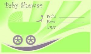 Invitaciones para Baby Shower