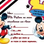 Mickey mouse con regalos