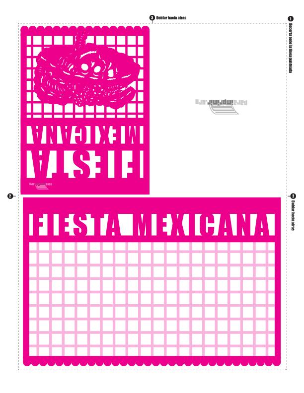 Paquete de Fiesta Mexicana para imprimir