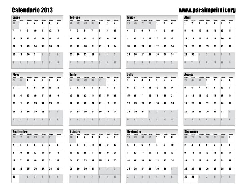 Espanol Para Imprimir Calendario 2016 HD Wallpaper