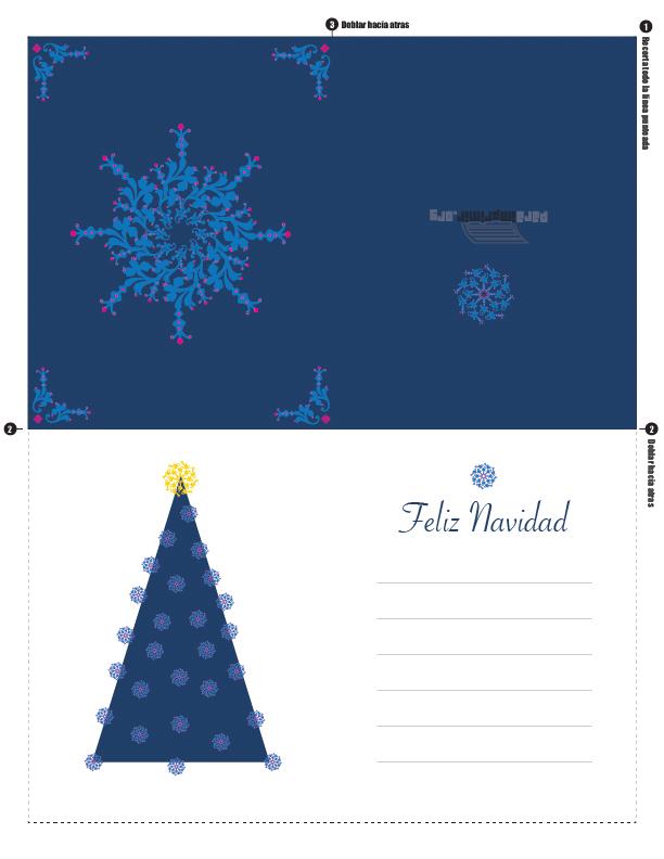 Pin tarjetas navide as 3d manualidades pelautscom on pinterest - Arbolito de navidad ...