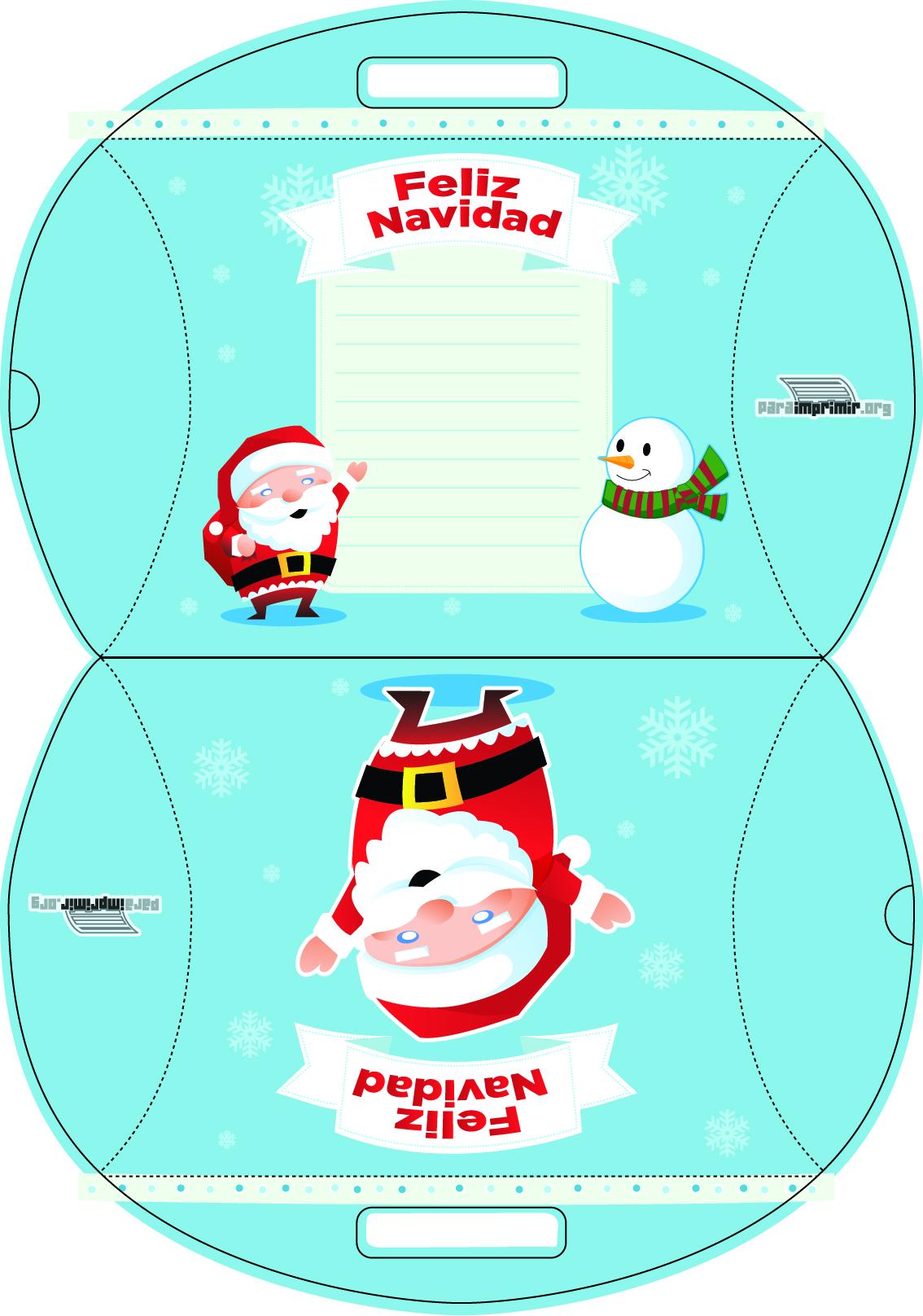 Dorable Para Colorear Imprimible Imágenes De Navidad Modelo ...