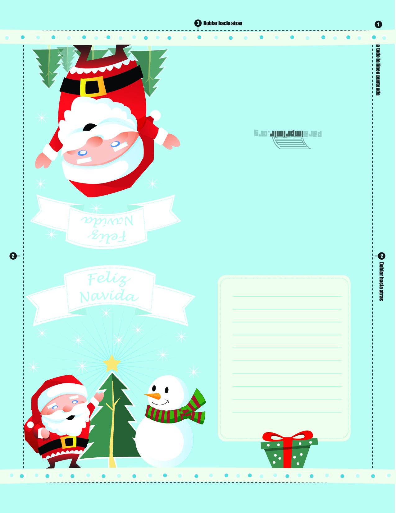 Tarjetas navidad para imprimir parte imagenes fondos - Postales de navidad bonitas ...