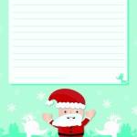 Carta de Papá Noel para imprimir