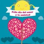 Tarjeta para imprimir de amor y amistad portada