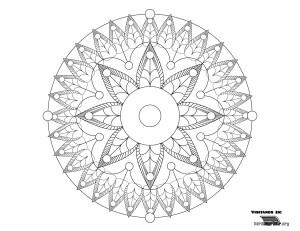 Mandala-para-colorear-y-para-imprimir