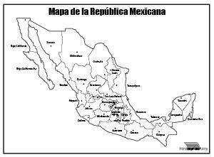 República mexicana para tarea