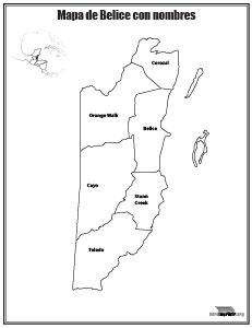 Mapa-de-Belice-con-nombres-para-imprimir