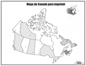 Mapa-de-Canada-sin-nombres-para-imprimir