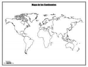 mapa-de-los-contientes-sin-nombres-para-colorear-y-para-imprimir
