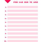 10 razones por que te amo