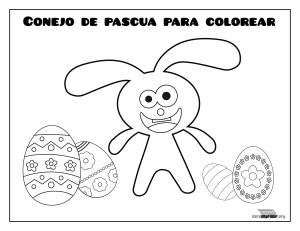 Conejo-de-pascua-para-colorear-y-para-imprimir