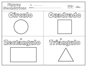 Figuras geométricas para colorear y para imprimir