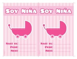 Tarjeta-de-la-llegada-del-bebe-nina-para-imprimir